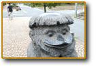 カッパ石像